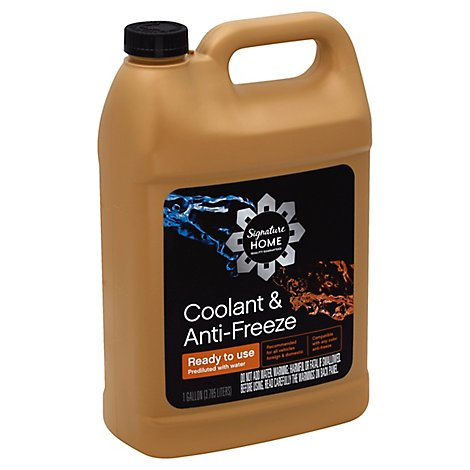 Signature SELECT/Home Coolant & Anti Freeze Ready To Use - 1 Gallon