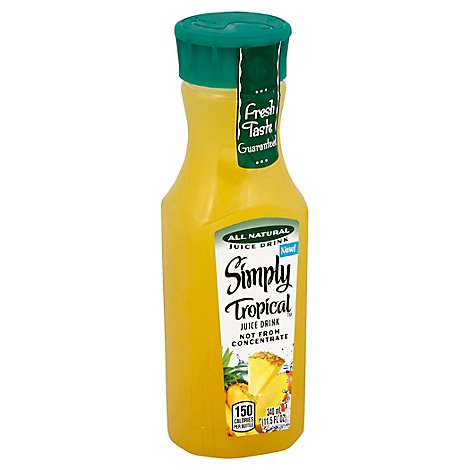 Simply Tropical Juice All Natural - 11.5 Fl. Oz.