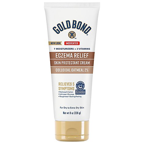 GOLD BOND Ultimate Cream Skin Protectant Eczema Relief - 8 Oz