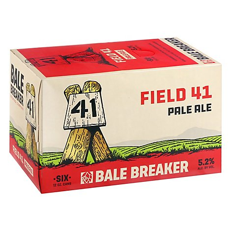 Bale Breaker Field 41 Pale Ale In Cans - 6-12 Fl. Oz.
