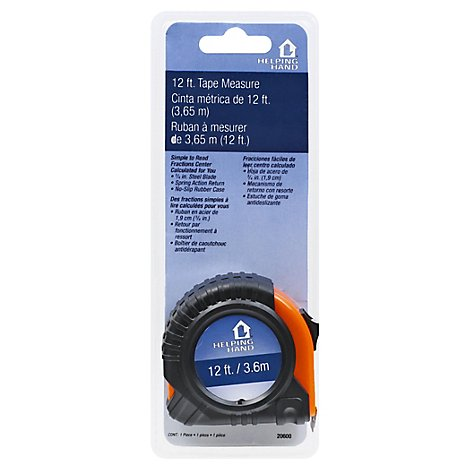Helping Hand 12 Foot Tape Measure - Each