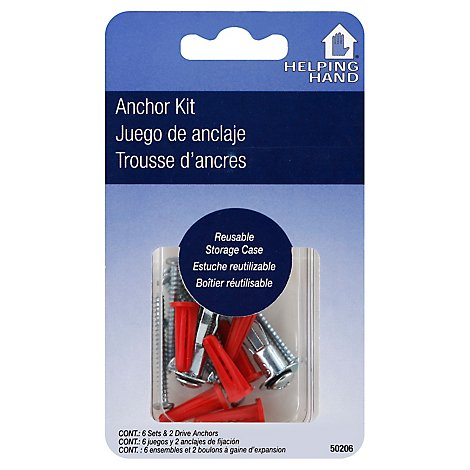 Helping Hand Anchor Kit - Each