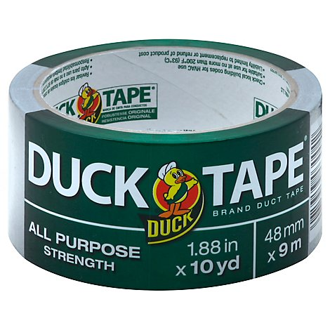 Duck Gray All Purpose Duck Tape - Each