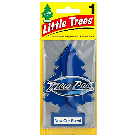 Little Trees Air Fresheners New Car Scent - Each