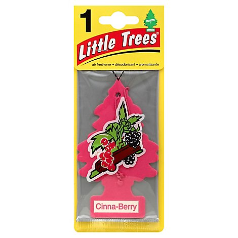 Car Fresh Little Tree Cinnamon Air Freshener - Each