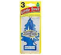 Little Trees Air Fresheners New Car Scent - 3 Count