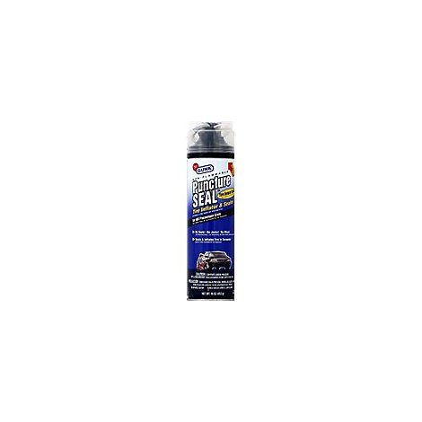 Gunk Puncture Seal Tire Sealant - 16 Oz