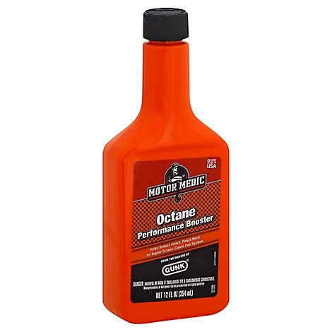 Gunk Octane Booster 12 Ounce - Each