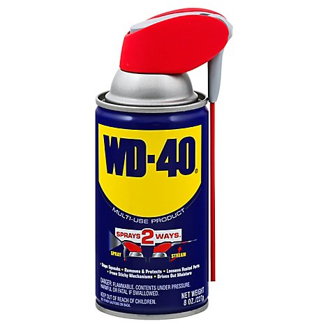 WD-40 With Smart Straw Ca - 8 Oz