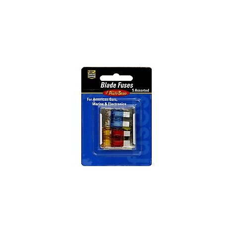 Lil Auto Assorted Usa Blade Fuses - Each