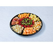 Deli Catering Tray Cheese & Fruit Nibbler 8 To 12 Servings - Each