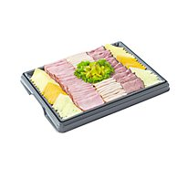 Deli Catering Tray Meat & Cheese 12 to 16 Servings - Each