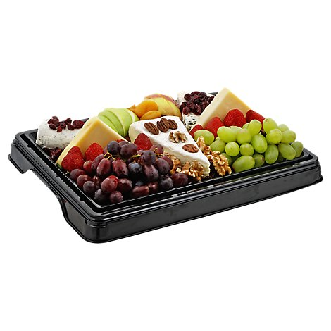 Deli Catering Tray Fruit & Fine Cheese 8 to 12 Servings - Each