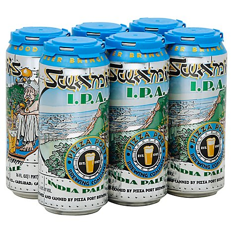 Pizza Port Swamis Ipa In Cans - 6-16 Fl. Oz.