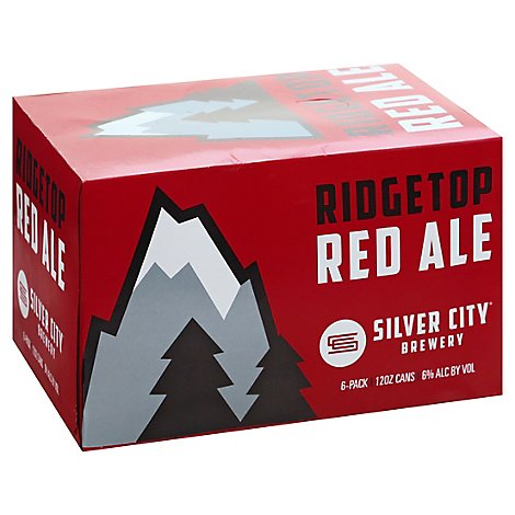 Silver City Ridgetop Red In Cans - 6-12 Fl. Oz.