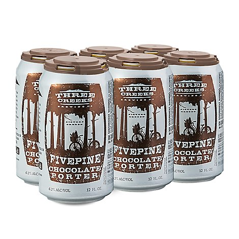 Three Creeks Chocolate Porter Fivepine In Can - 6-12 Fl. Oz.