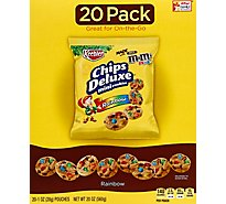 Keebler Chips Deluxe Cookies Mini Rainbow 20 Count - 20 Oz