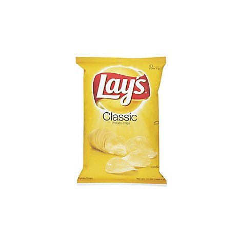 Lays Potato Chips Classic - 2.75 Oz