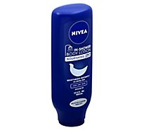 NIVEA Body Lotion In Shower Nourishing - 13.5 Fl. Oz.