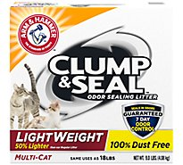 ARM & HAMMER Clump & Seal Cat Litter Lightweight Multi Cat - 9 Lb