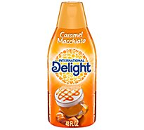 International Delight Coffee Creamer Caramel Macchiato - 48 Fl. Oz.