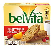 belVita Breakfast Biscuits Cranberry Orange - 5-1.76 Oz