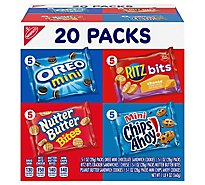 NABISCO Cookies and Crackers Variety Pack Classic Mix - 20 Count