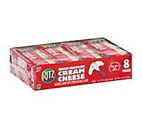 RITZ Crackers Sandwiches Cream Cheese - 8-1.35 Oz