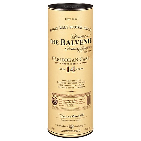 Balvanie Scotch 14 Year - 750 Ml