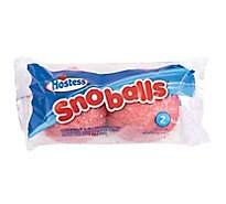 Hostess Snoballs Cake 2 Count - 3.5 Oz