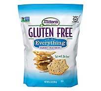Miltons Crackers Baked Gluten Free Everything - 4.5 Oz