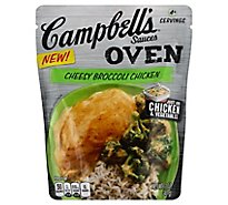 Campbells Sauces Oven Cheesy Broccoli Chicken Pouch - 12 Oz
