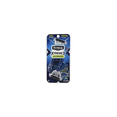 Xtreme3 Ultimate Disposable Razor - 4 Count