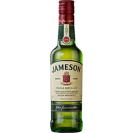 John Jameson Irish Whiskey 80 Proof - 375 Ml