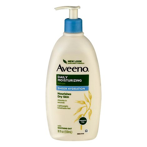 Aveeno Active Naturals Lotion Daily Moisturizing Sheer Hydration - 18 Fl. Oz.