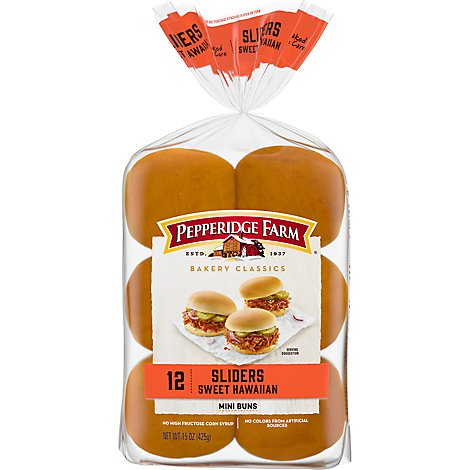 Pepperidge Farm Sweet Slider Buns - 1-15 Oz