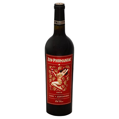 Zin Phomaniac Zinfandel Old Vines Lodi - 750 Ml