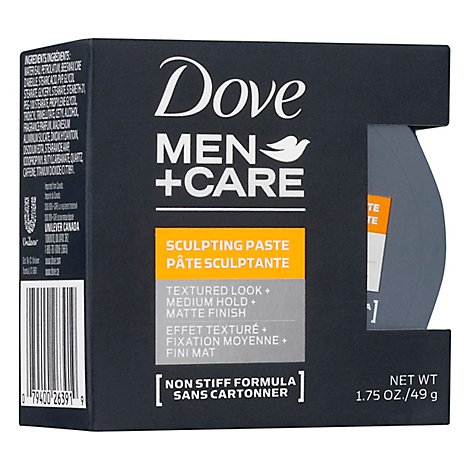 Dove Men+Care Styling Paste Fortifying - 1.75 Oz