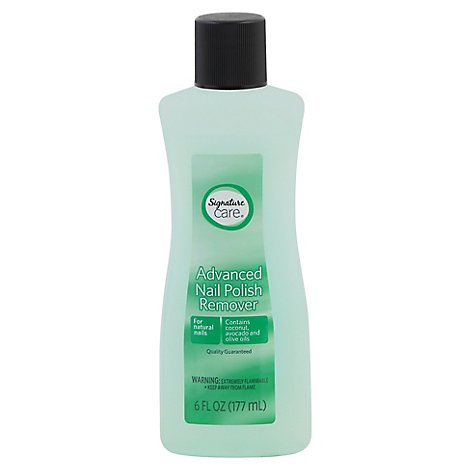 Signature Care Nail Polish Remover Advanced - 6 Fl. Oz.