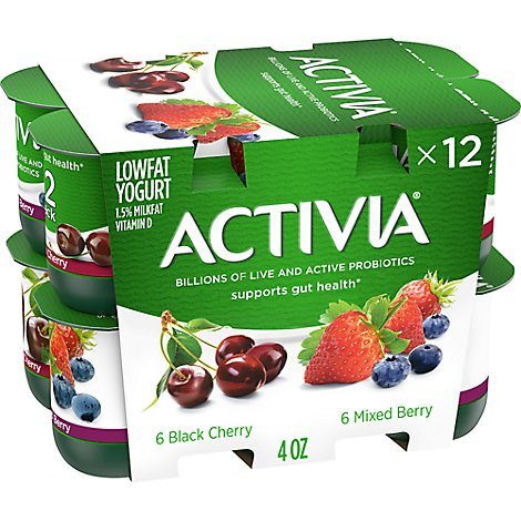Activia Probiotic Yogurt Low - Online