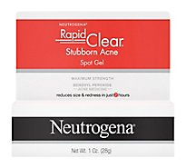 Neutrogena Rapid Clear Spot Gel Stubborn Acne Maximum Strength - 1 Oz