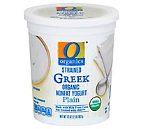 O Organics Organic Greek Yogurt Plain - 32 Oz