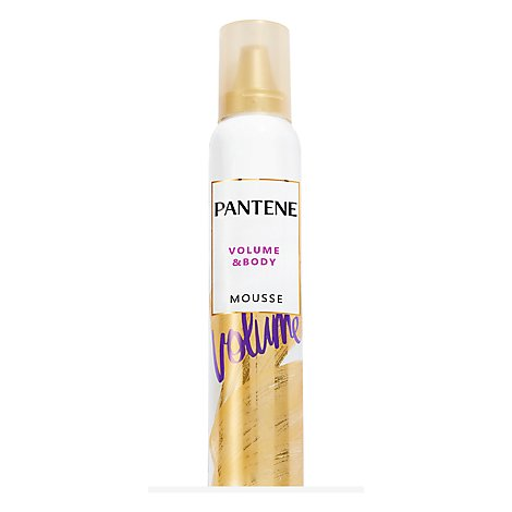 Pantene Pro V Mousse Body Boosting Fullness & Lift - 6.6 Oz