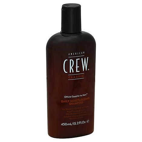 American Crew Classic Shampoo Moisturizing for Normal to Dry Hair and Scalp - 15.2 Fl. Oz.