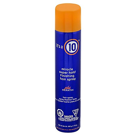 Its A 10 Keratin Firm Miracle Super Hold Finishing Hair Spray - 10 Oz