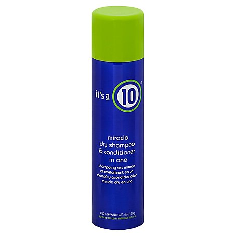 Its A 10 Dry Shampoo Conditioner In One - 6 Oz