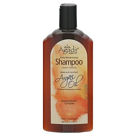 Agadir Argan Oil Daily Moisturizing Shampoo - 12.4 Fl. Oz.