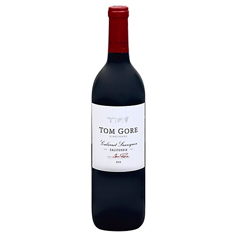 Tom Gore Vineyards Wine Red Cabernet Sauvignon - 750 Ml