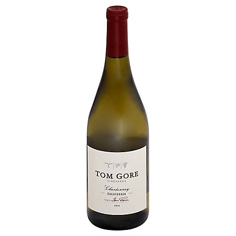 Tom Gore Vineyards Wine White Chardonnay - 750 Ml