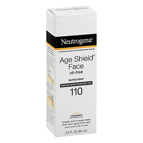 Neutrogena Age Face Shield Lotion Spf 110 - 3 Fl. Oz.